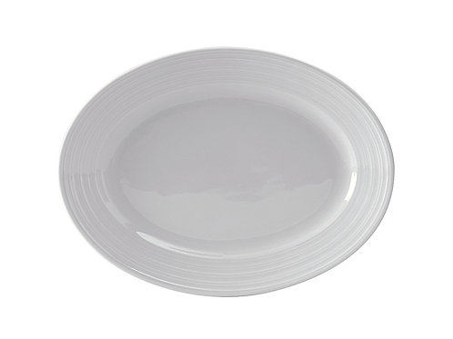 """Pacifica Oval Platter 12-5/8"""""""