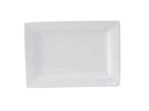 "Santorini Rectangular Plate 8"""