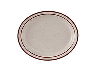 "Bahamas Oval Platter 9-1/2"""