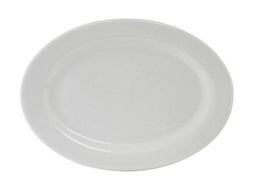"""Alaska Oval Platter 13-3/4"""""""