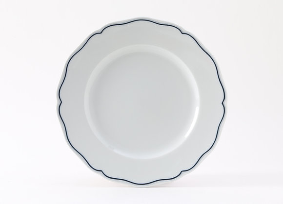 "Charleston Blue Band Plate 9"""