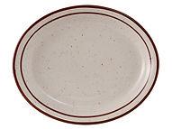 "Bahamas Oval Platter 13-3/4"""