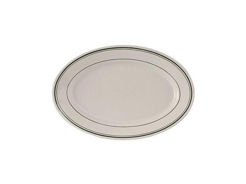 "Green Bay Oval Platter 8-1/4"""