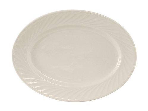 "Meridian Oval Platter 13-1/4"""
