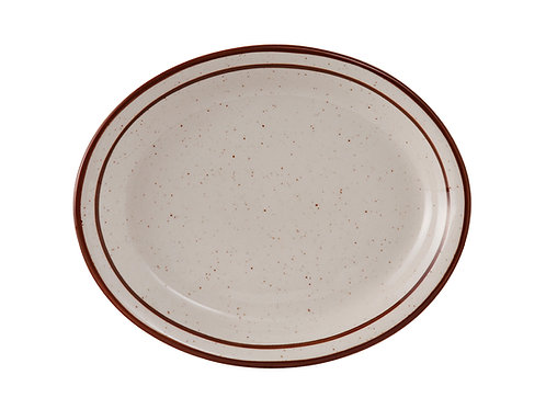 "Bahamas Oval Platter 11-1/2"""