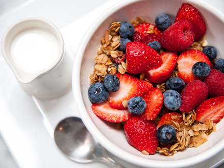 Housemade Granola, Fruit & Yogurt