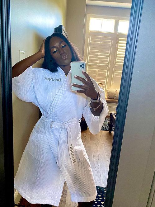 Custom White Robe