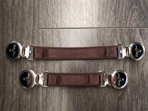 Cinch Elastic Belts - Brown