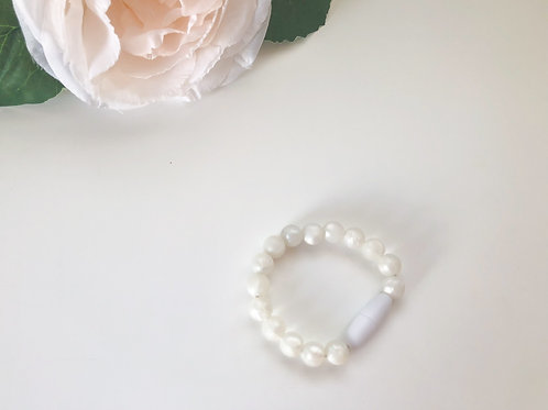 Pearl Silicone Bracelet - Baby