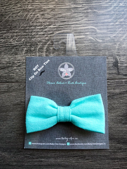 Bow Ties for Boys - Aqua