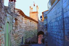 Lower Belltower Stylized