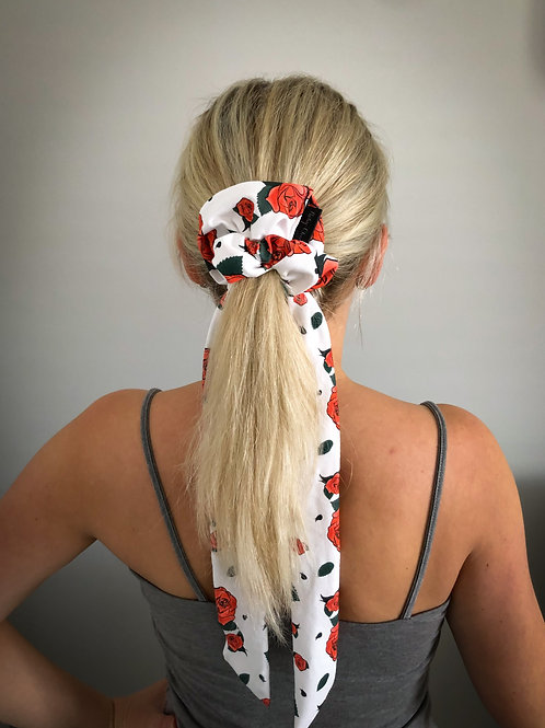 Scarf Scrunchie - Rose