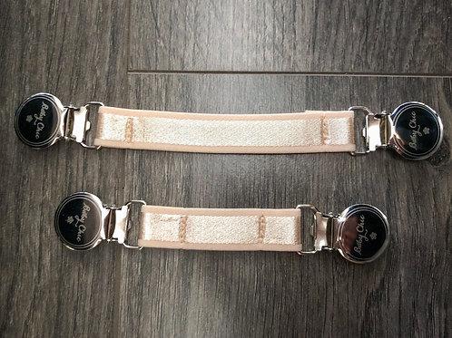 Cinch Elastic Belts - Champagne