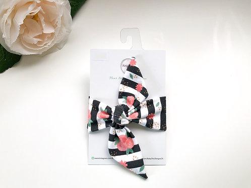 Bow Tie Headband - Coral Reef