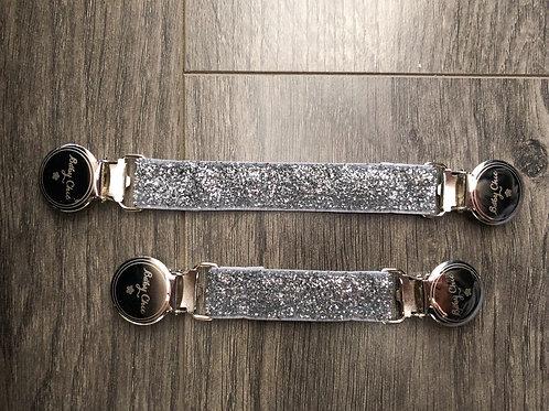 Cinch Elastic Belts - Silver