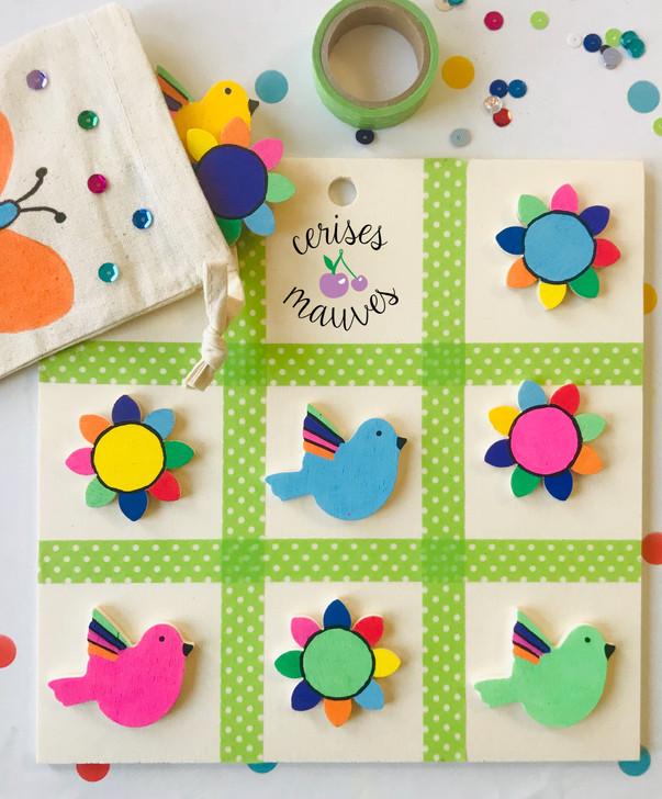 "Kit créatif ""Oiseaux"""