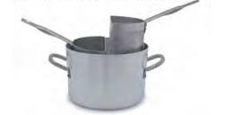 7035 Pasta pot with 2 aluminium strainers