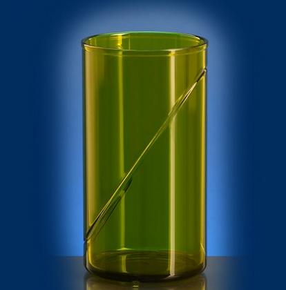waterglass 0,25l SAN green