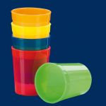 Multi-Purpose Cup clear color 0.2lt