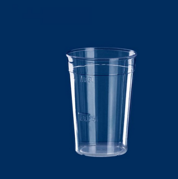 Multi-Purpose Cup clear 0.3lt