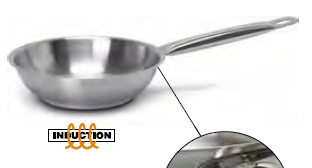 9000 Fry pan with long handle