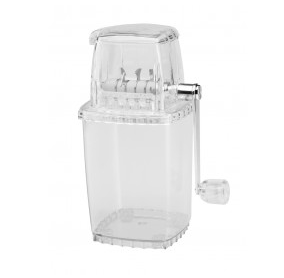 Ice Crusher transparent, clear