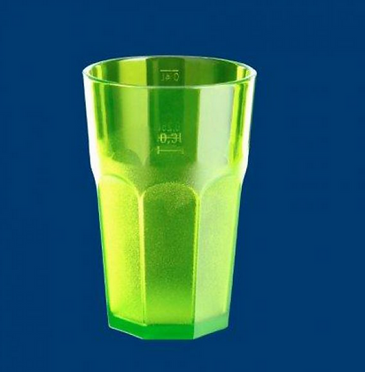 Caipirinha glass frosted 0,3l