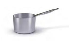 7028 Deep saucepan with long handle