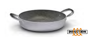 2888 Serving pan with 2 handles