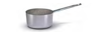 2826 Medium height saucepan with long handle