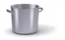 7022 Stock pot with 2 handles