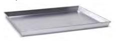 7044 Rectangular baking sheet with tapared sides -