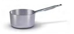 7026 Medium height saucepan with long handle