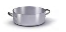 7016 Shallow casserole with 2 handles