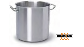 9022 Stock pot with 2 handles