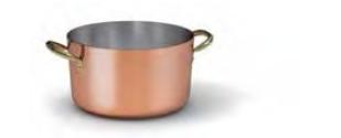1518 Medium height casserole with 2 handles