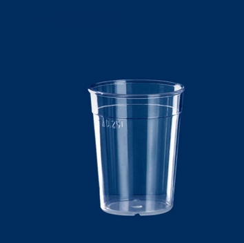Multi-Purpose Cup clear 0.25l