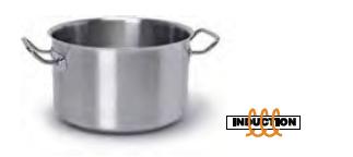 9018 Medium height casserole with 2 handles