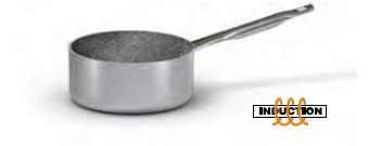2886 Medium height saucepan with long handle