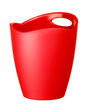 Shape bucket FB-23 red