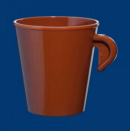 Espresso cup 0,2l SAN stackable brown