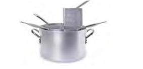 7038 Pasta pot with 4 aluminium strainers
