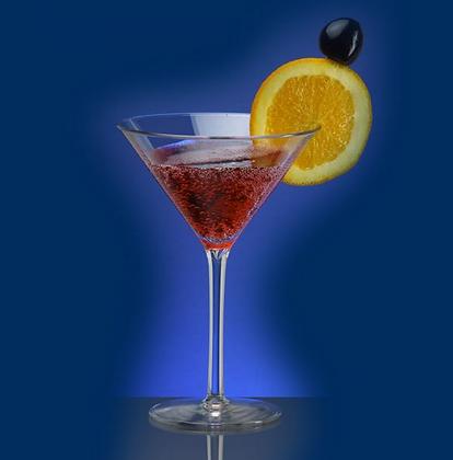 Martini glass 0,1l clear