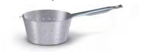 7062 Saucepan strainer with long handle
