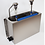 Thumbnail: Cleaning sink with scoop dryer and scoop shower