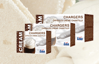 liss cream chargers