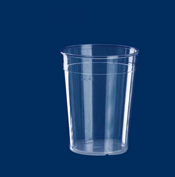 Multi-Purpose Cup clear 0.4lt