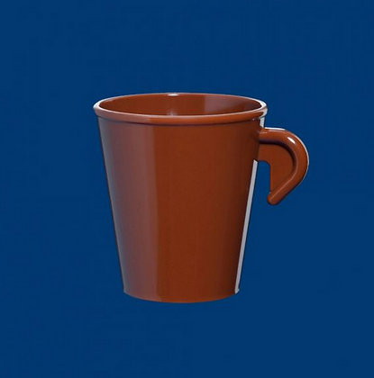 Espresso cup 0,1l SAN stackable brown