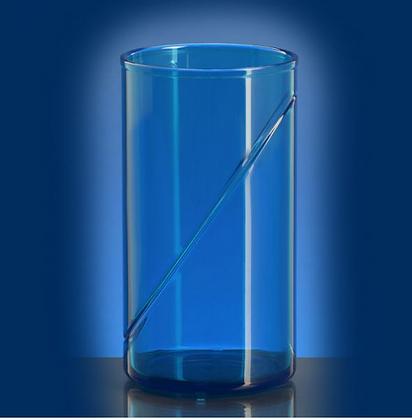waterglass 0,25l SAN blue