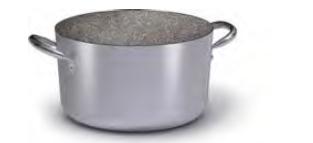 2818 Medium height casserole with 2 handles Topf